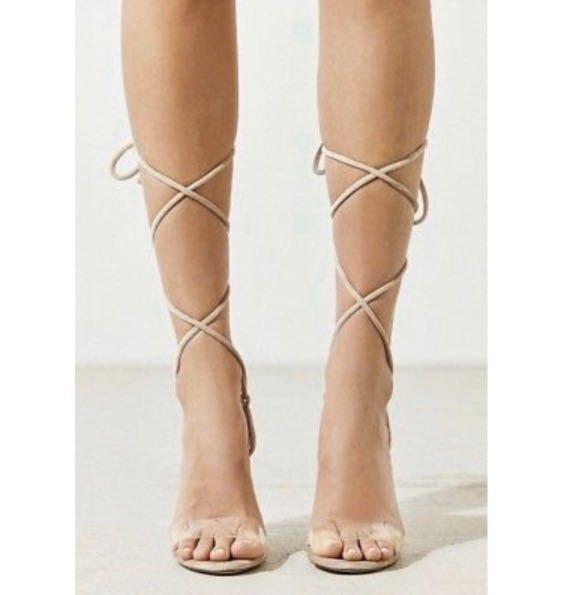 Urban Outfitters Velvet sandals