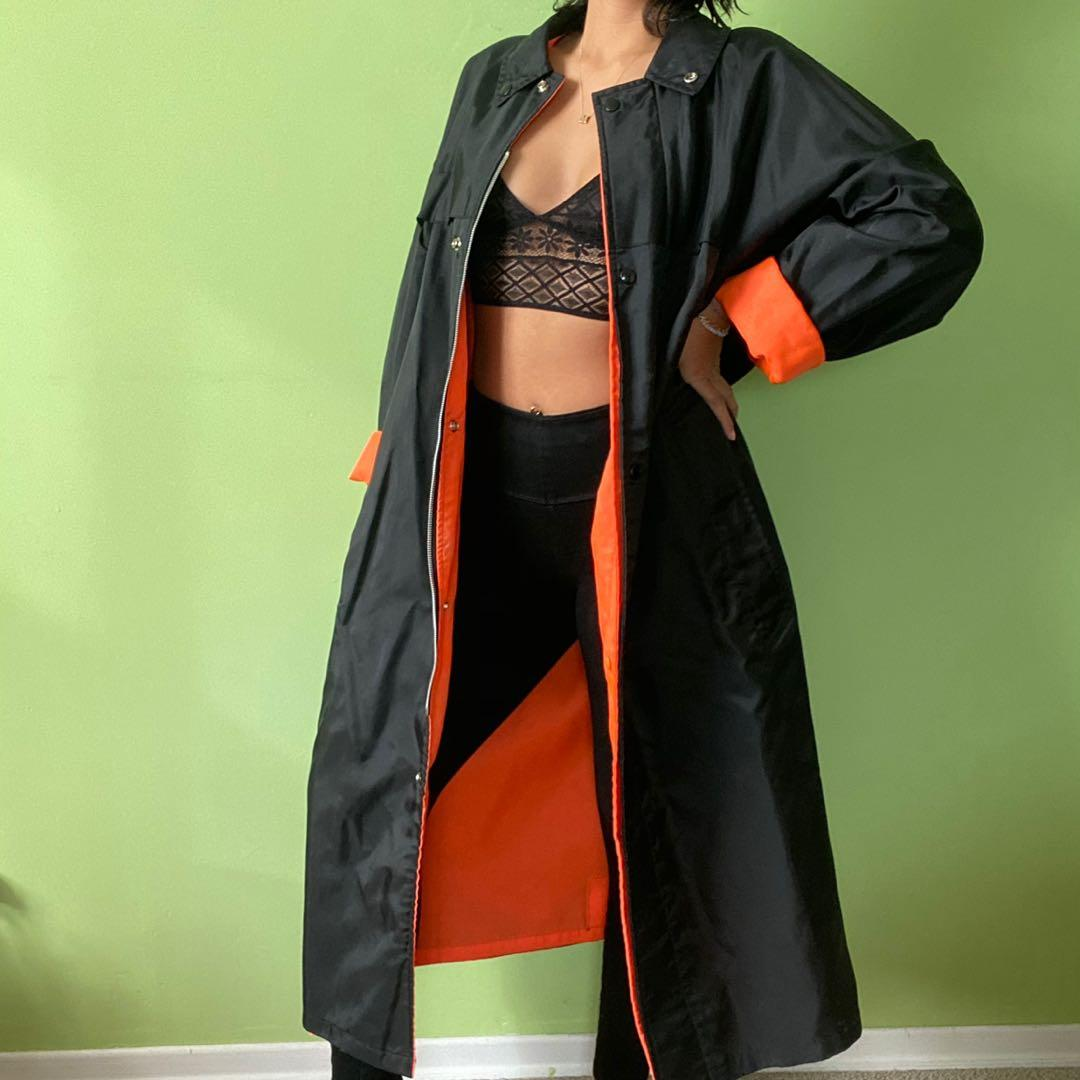 Vintage Reversible Trench Coat