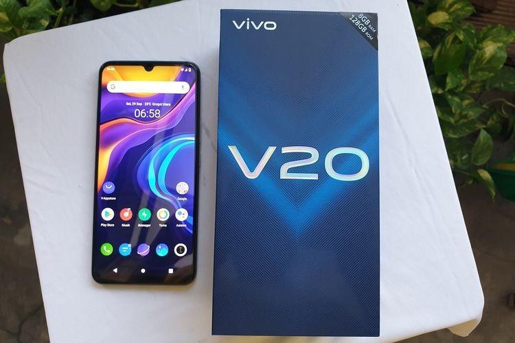 VIVO V20 NFC 64MP New Indonesia Garansi Resmi Homecredit Indonesia
