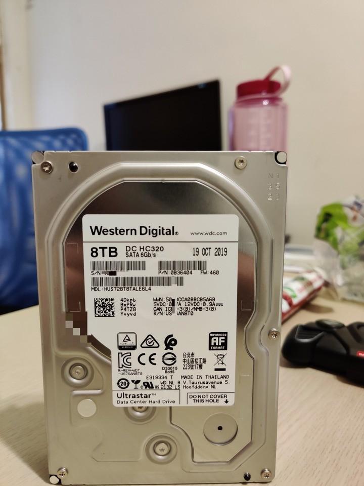 全新WD企業級8T硬碟 HUS728T8TALE6L4