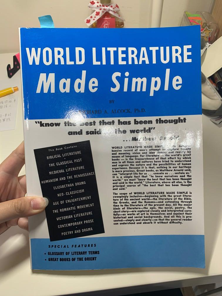 World literature made simple