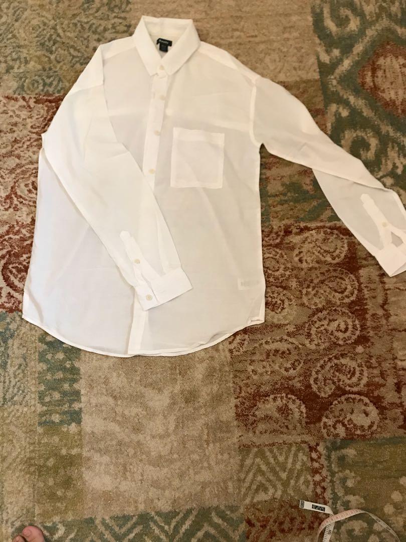 (2件價)加拿大🇨🇦Roots寬鬆版白襯衫#換季