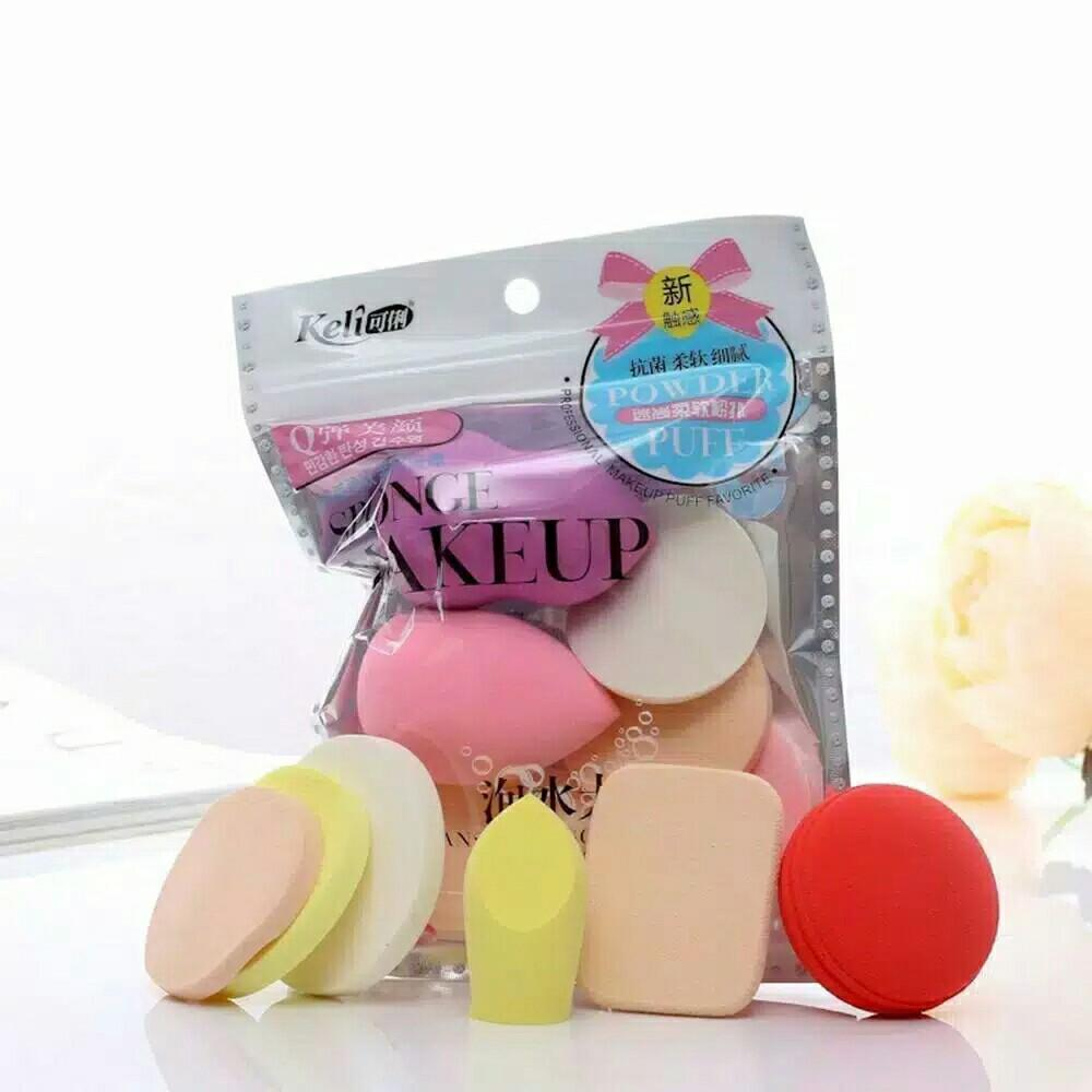 6 in 1 Beauty Blender Sponge