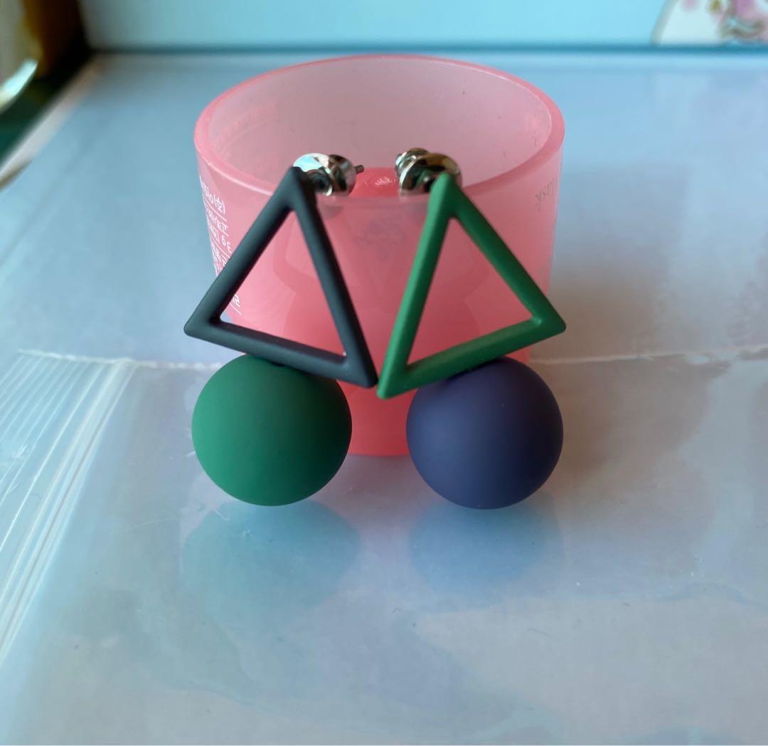幾何造型耳環
