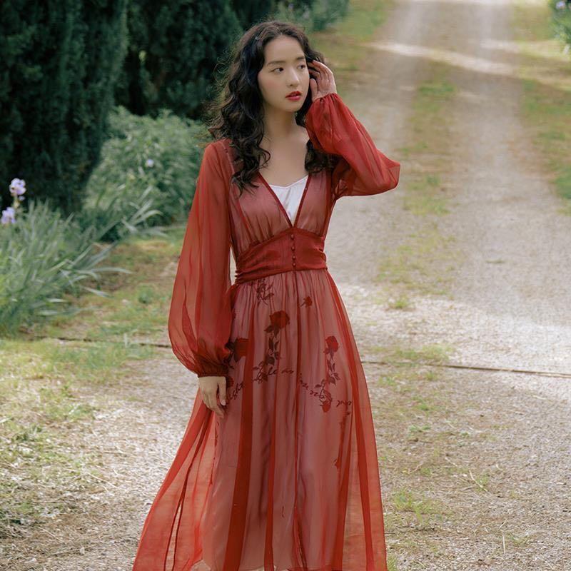 薄紗兩件式套裝,仙女必備