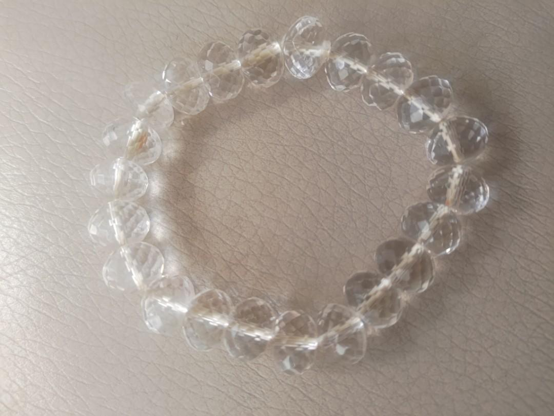 透明 珠珠 手鍊