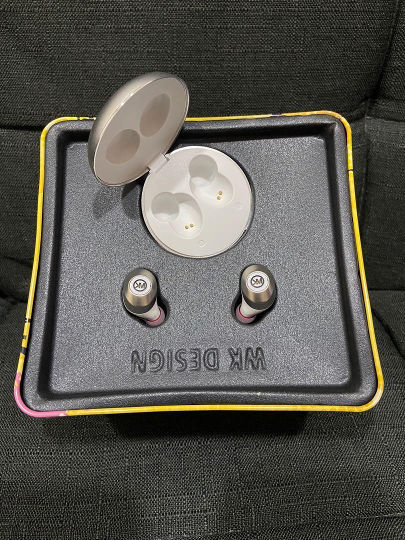#剁手價🔥年底促銷🔥🙅🏻♀️不議價🙅🏻♀️ 新動國際 金屬藍芽耳機  WK-969