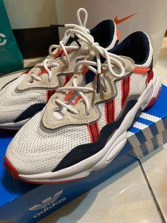 降價售 Adidas Ozweego 紅白 反光 經典 老爹鞋