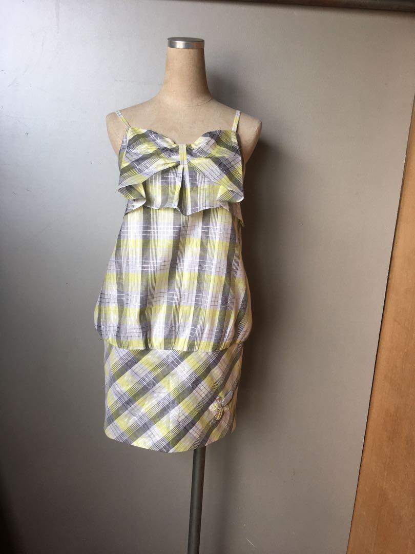 AdoNner 設計師格紋洋裝