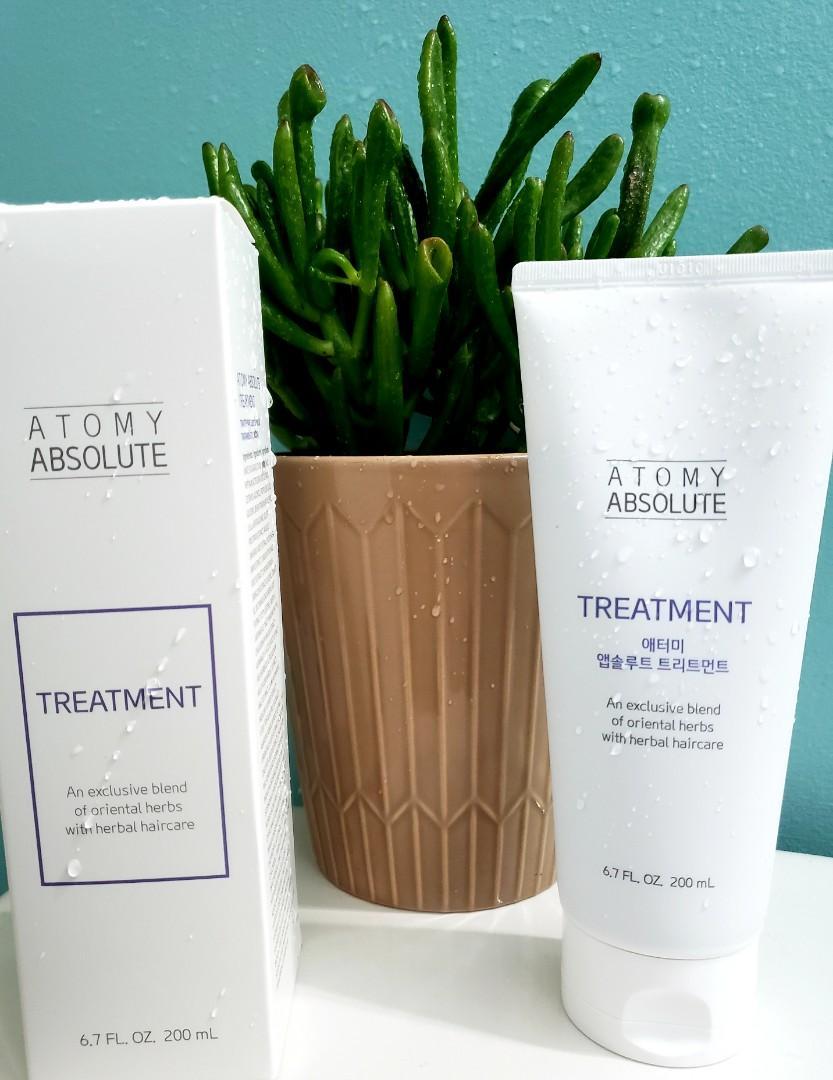 Atomy Herbal Hair Treatment Made in Korea