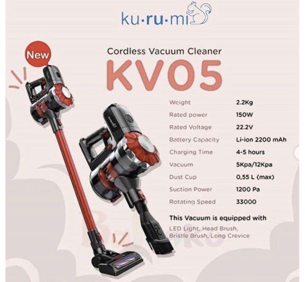 BARU Kurumi vacuum cleaner KV05 cordless