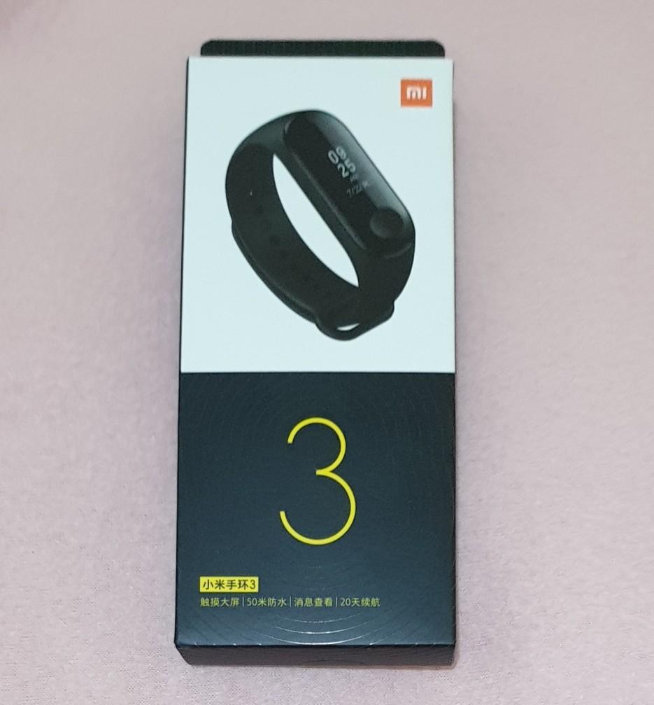 #novjajan Beli Xiaomi Mi Band 3, gratis 1 tas cantik