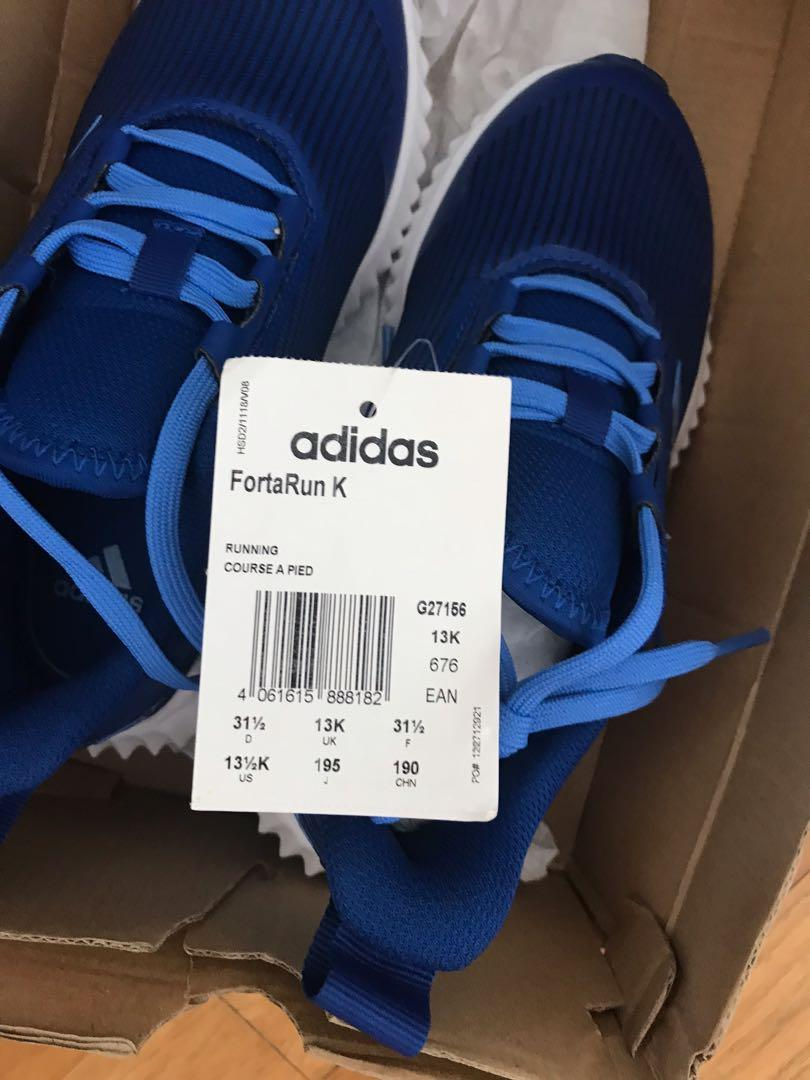 Brand New Adidas Shoes for Kids. Size 13 UK (size 13.5 USA ...
