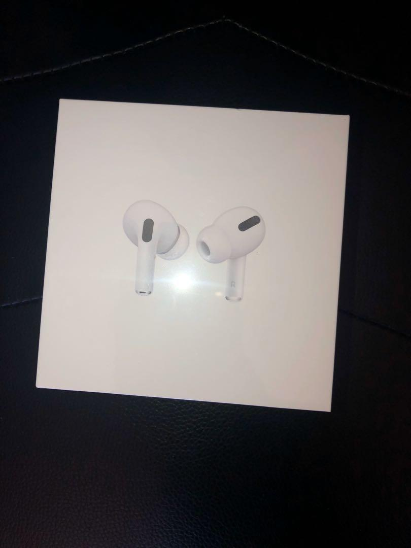Brand new apple AirPods pro with wireless charging