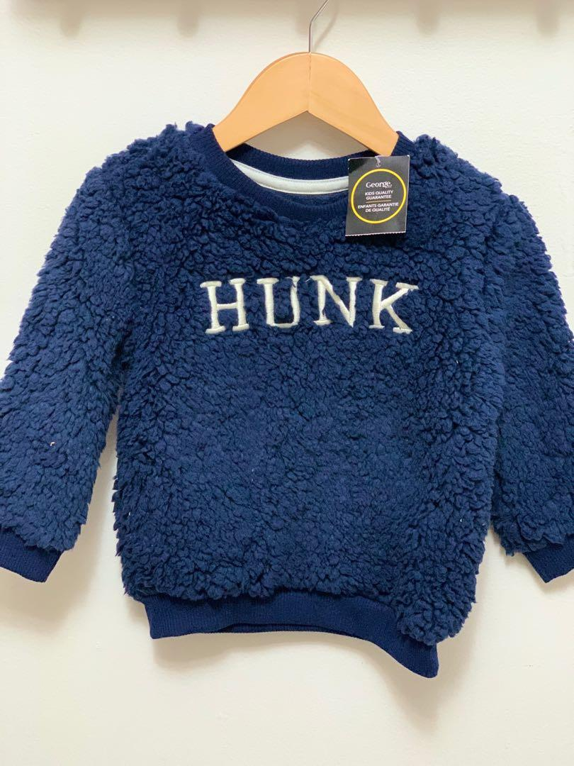 Brand new George toddler boys sweater 2t