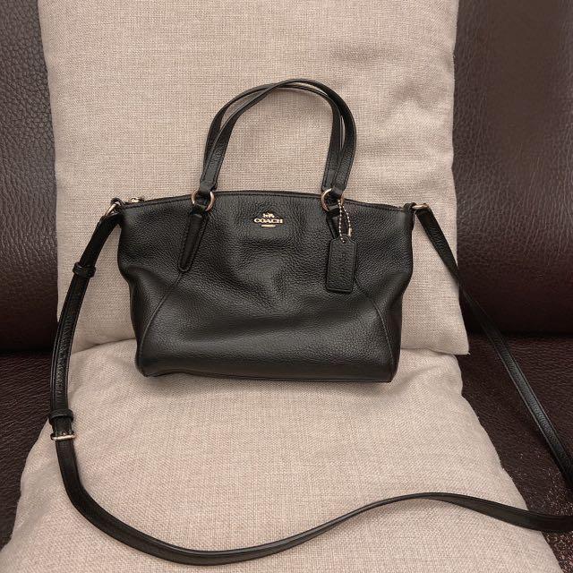 COACH 包包 水餃包 斜背包 手提包 二手 黑色