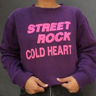 Crewneck street rock