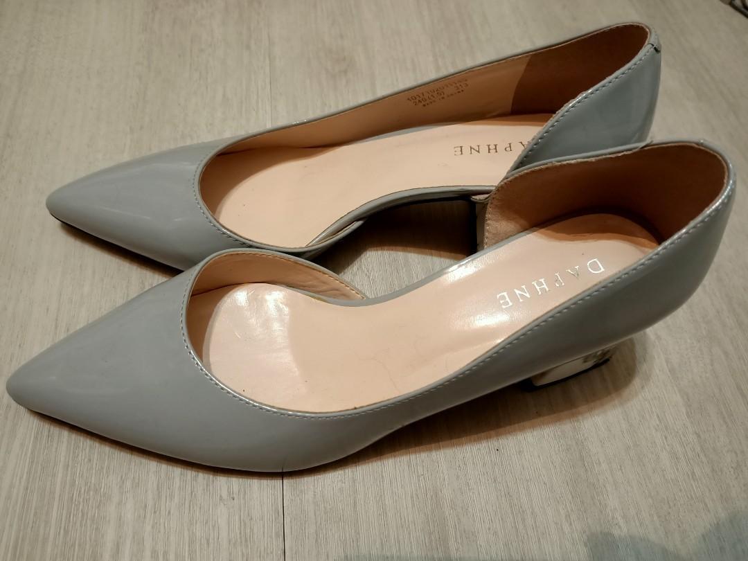 Daphne 灰色大理石氣質高跟鞋