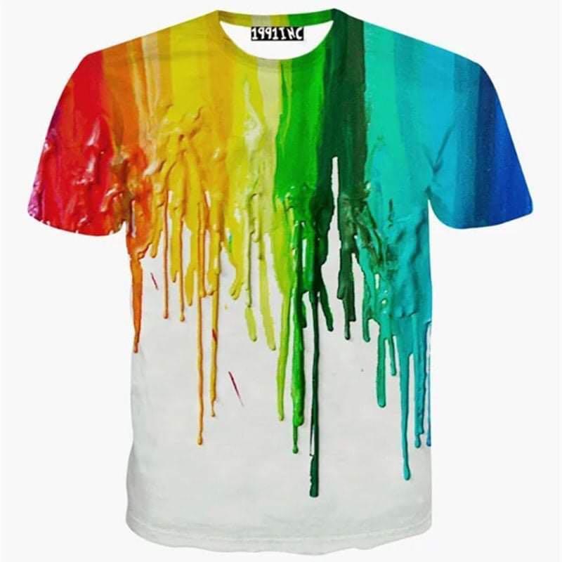 Dye t shirts