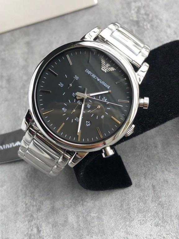 🔥🔥🔥Emporio Armani Watch 男士石英手錶型號:AR1895-AR1894 指針:時,分,秒,直徑45mm厚度10mm防水50米,配原裝包裝