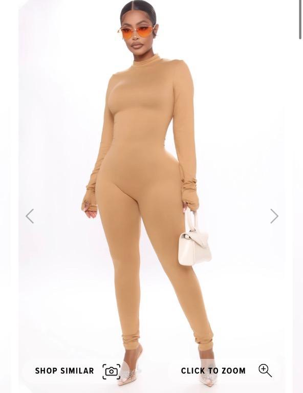 Fashion Nova 'Feeling frisky feline jumpsuit'