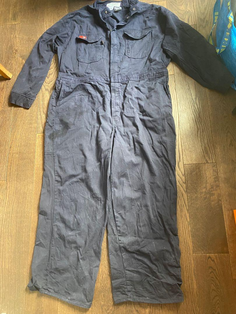 Flame resistant coveralls cat 2 navy blue size 54 Regular