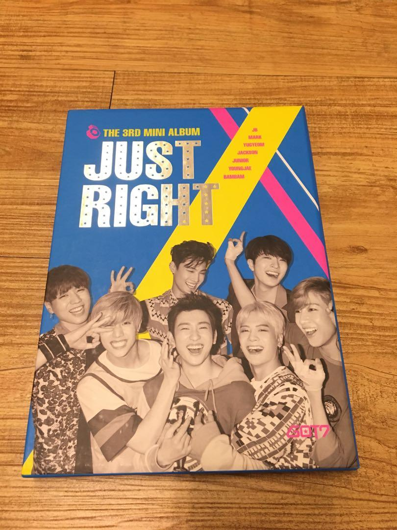 GOT7 JUST RIGHT(全專)