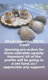 Hamster Squishies
