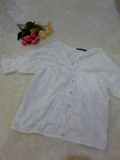 Heather lace top