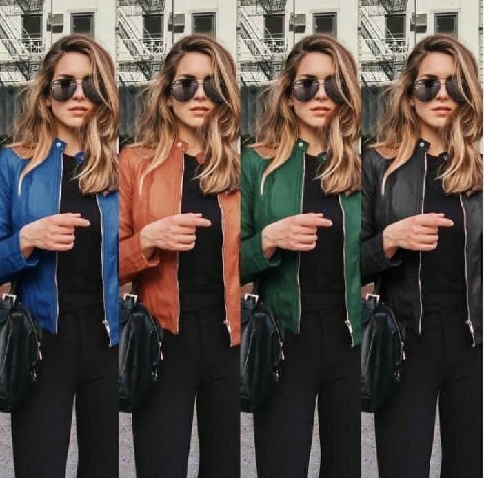 Jacket/Free Order   Sizes    S-2XL