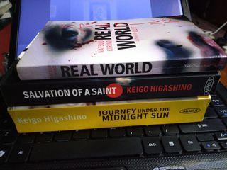Japanese Crime Thriller Novels Keigo Higashino