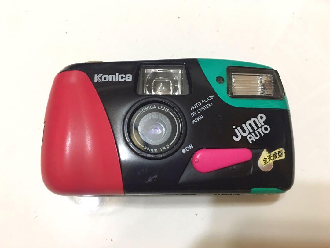 [故障機]Konica jump auto定焦 防水 底片相機