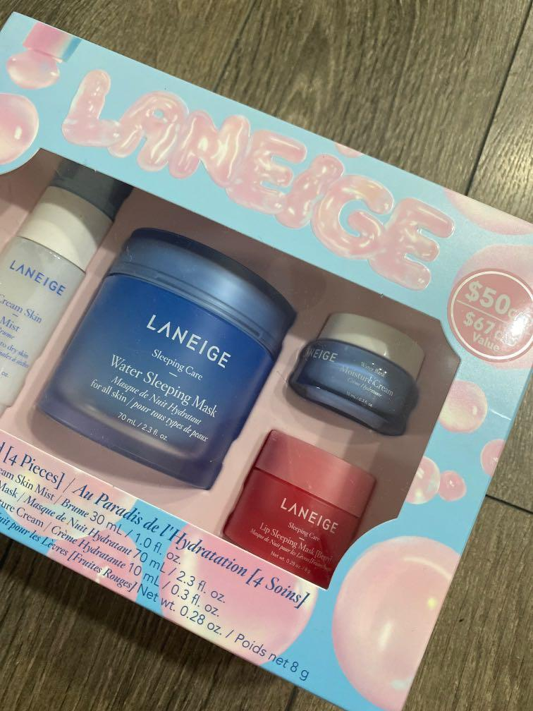 Laneige sleeping mask kit