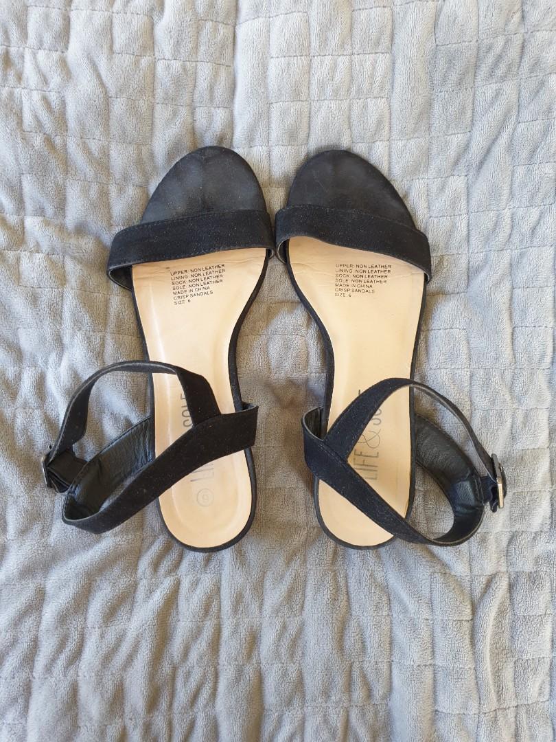Low heels/ sandals- Size 6