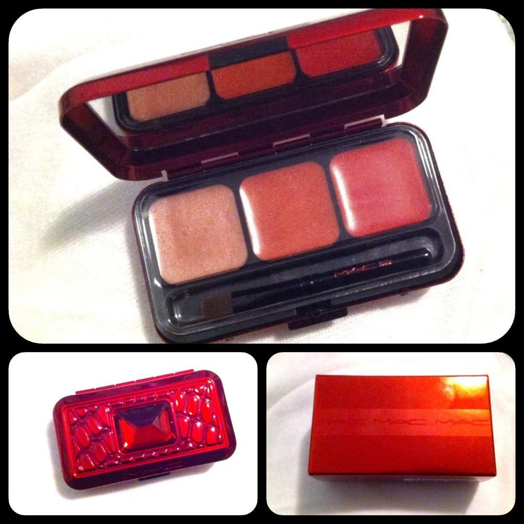 MAC Lip palette compact lipstick lipgloss