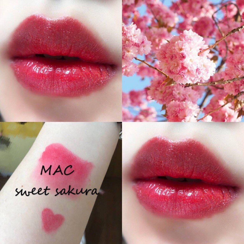 正品 Mac唇膏 #Sweet Sakura (二手)
