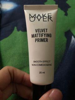 Make over velvet mattifying primer