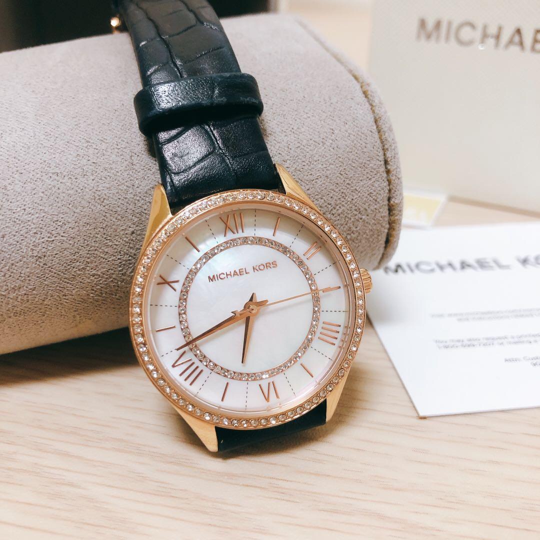 MK貝殼光手錶