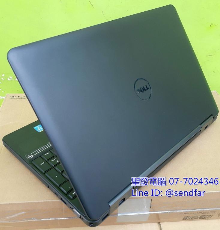 "NEW240SSD DELL E5540 i3-4010U 4G 15inch laptop ""sendfar secondhand"" 聖發二手電腦"