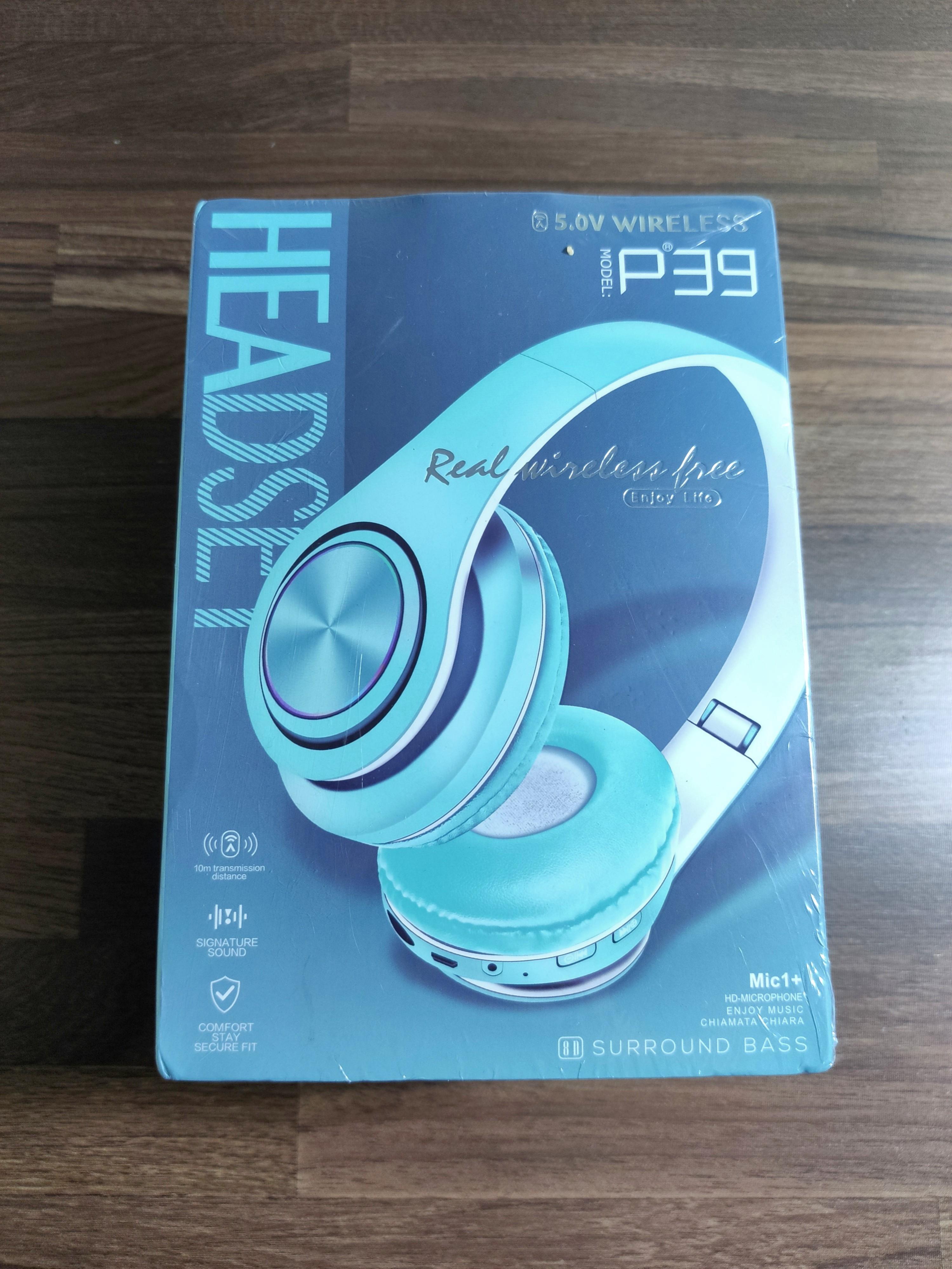 P39頭戴式藍芽耳機