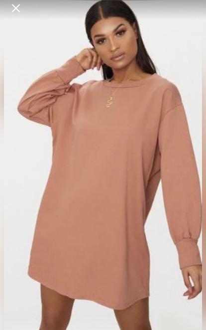 PrettyLittleThing sweater dress
