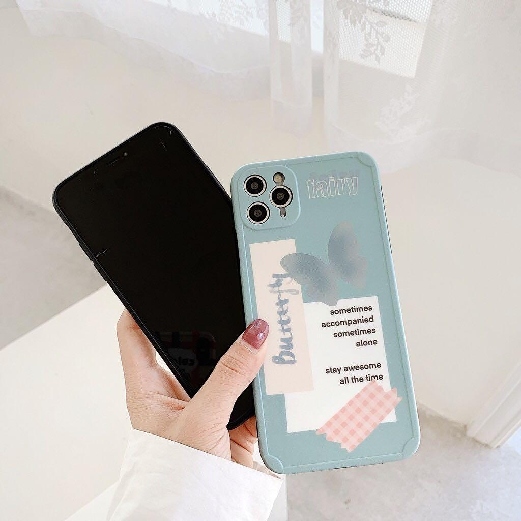 [PO] Butterfly Notes iPhone Case | Casing Lucu