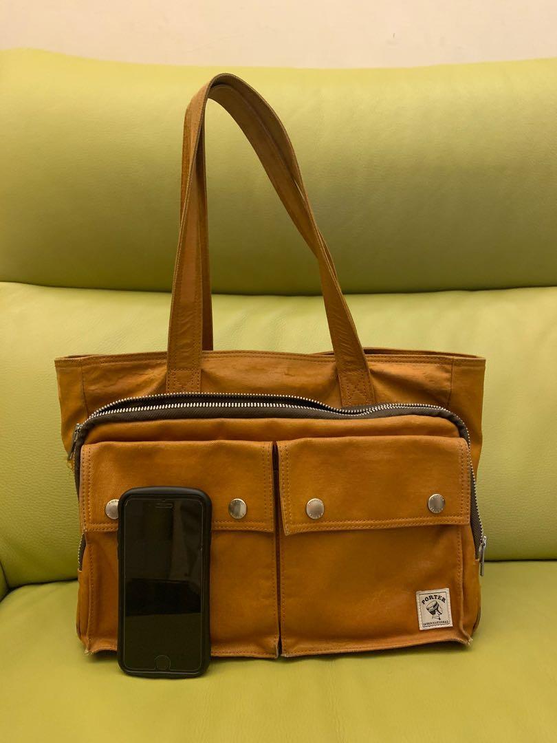 porter 手提包 托特包 可放A4大小 專櫃購入