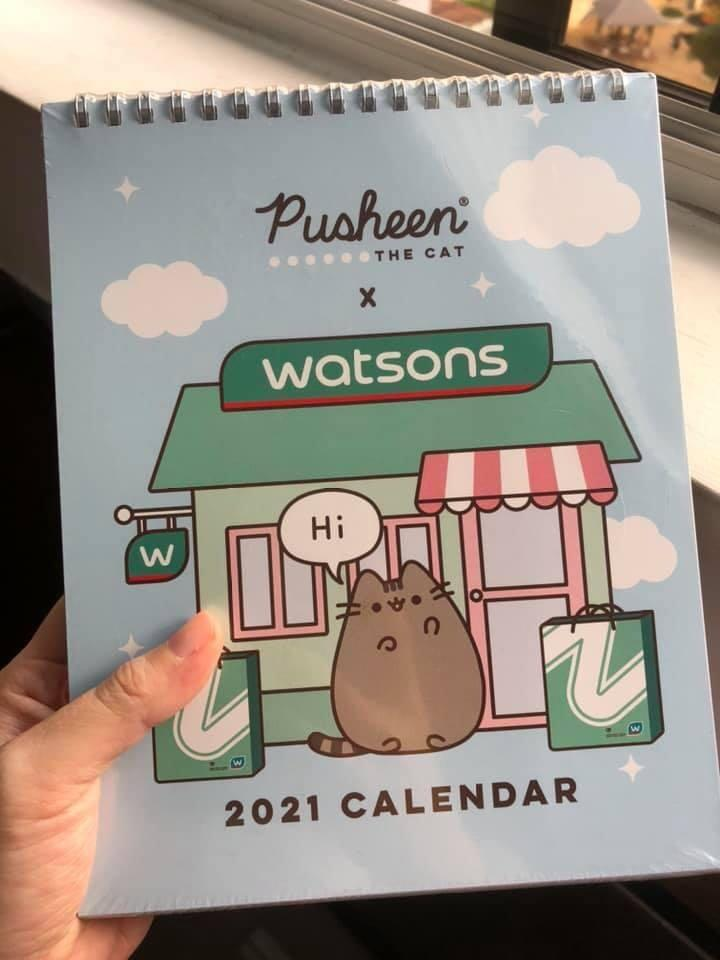 Pusheen x Watson's 2021 Calendar