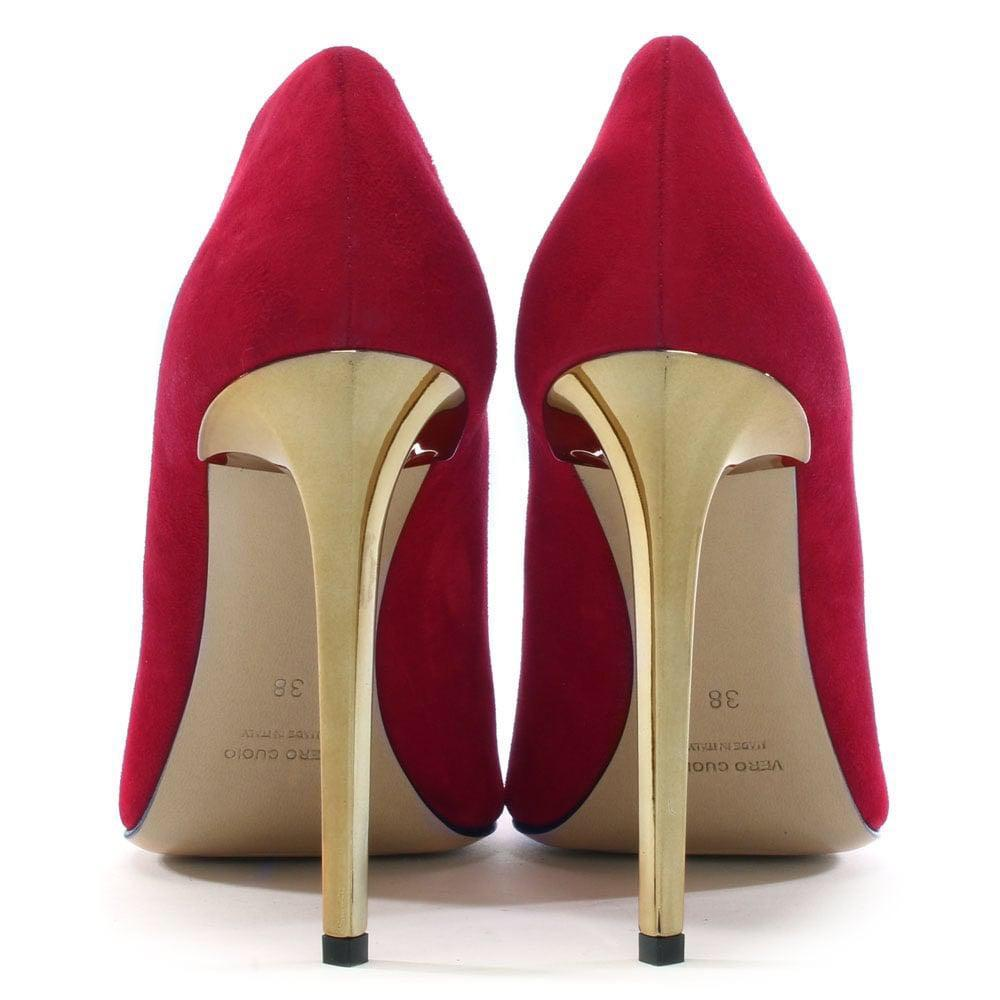 Red/gold heels