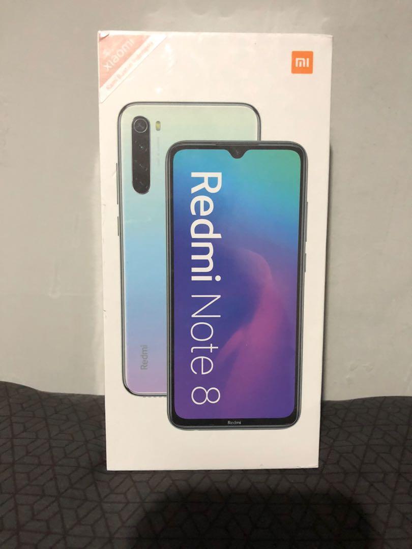 Redmi Note 8 - 4GB/64GB - Space Black (New)