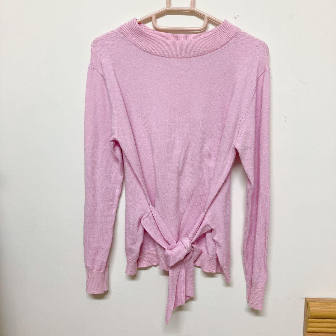日本專櫃rope picnic粉紫柔軟上衣