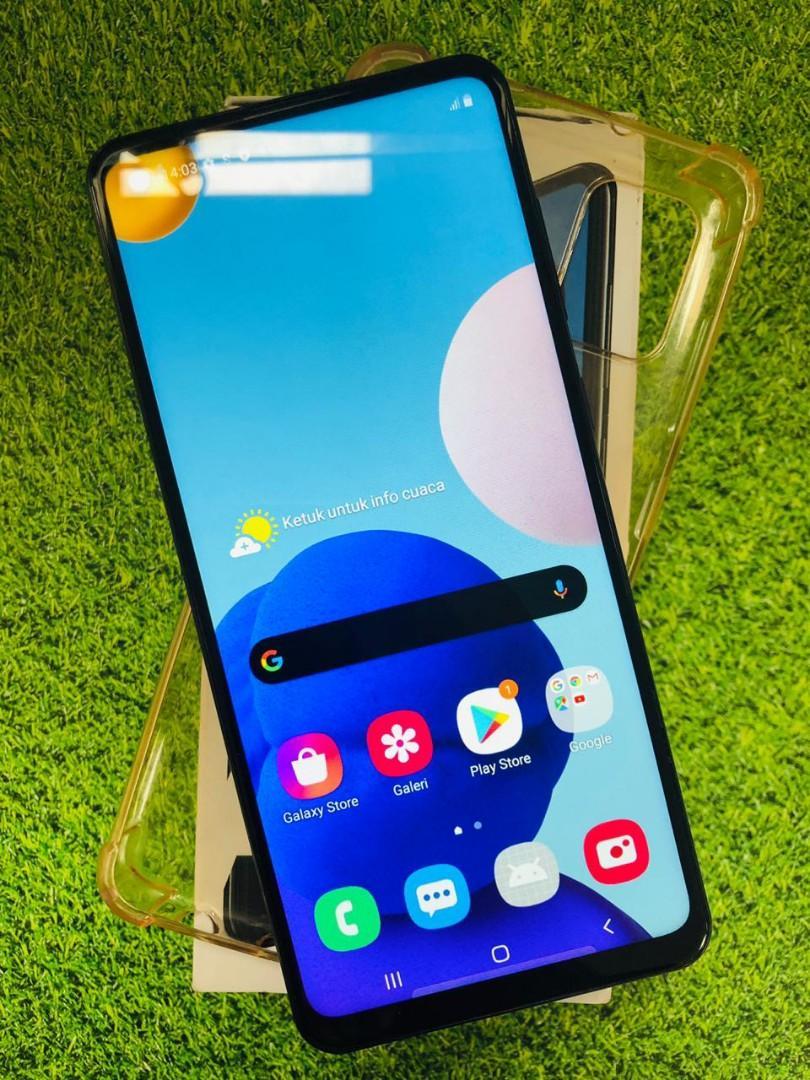 Samsung a21s 3/32gb lengkap