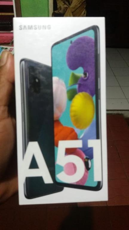Samsung A51 msh segel baru belum buka plastik