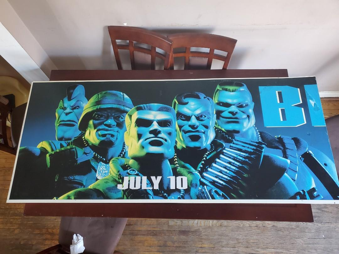 Small Soldiers 6ft Banner